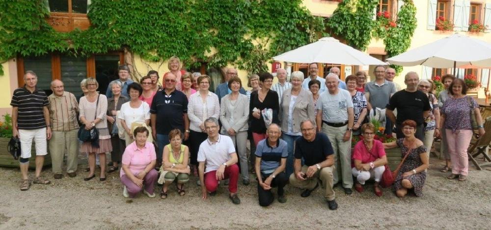 Photo de groupe du Club Cœur et Santé de Saint-Dié