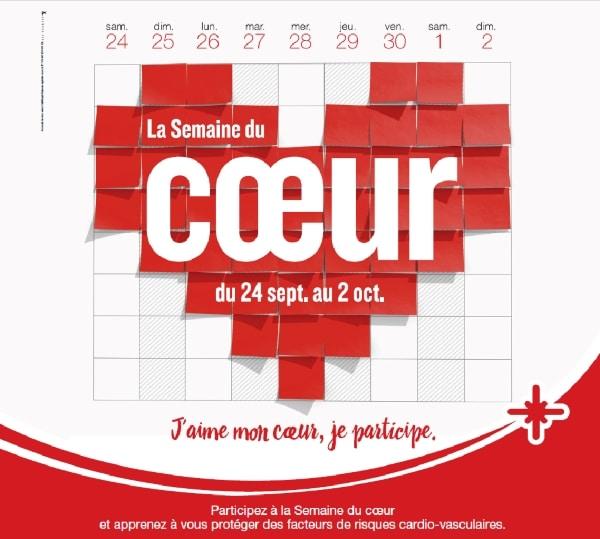 Affiche semaine du Cœur 2016