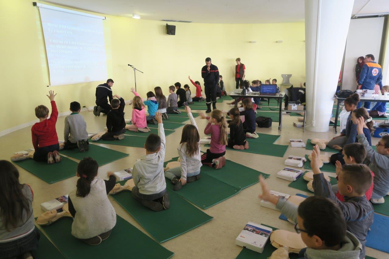 Photo de la Formation des scolaires en novembre 2015
