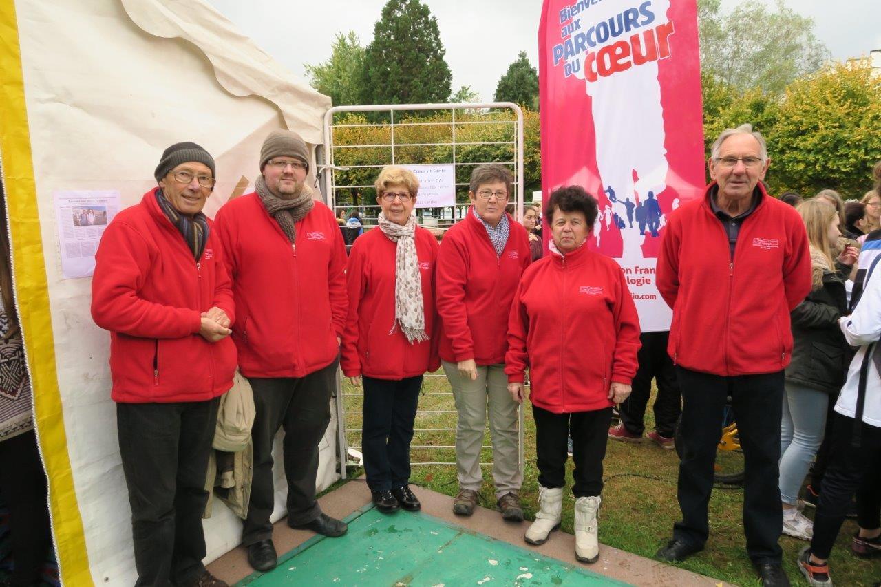Photo des bénévoles du Club Cœur et Santé