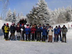 Photo du groupe au départ.