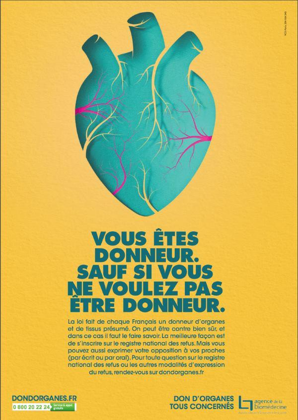 Affiche sur le son d'organes