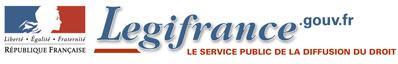 Logo de Légifrance