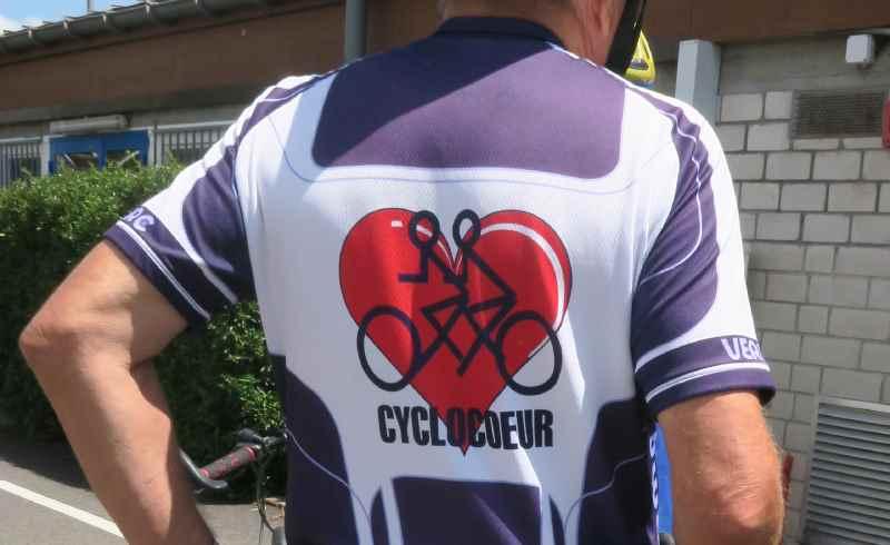 Maillot de cycliste Cyclocoeur