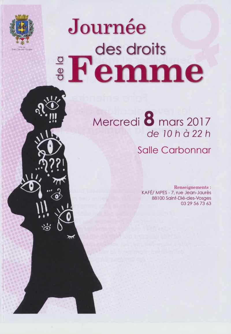 Affiche de la Journée des droits de la femme