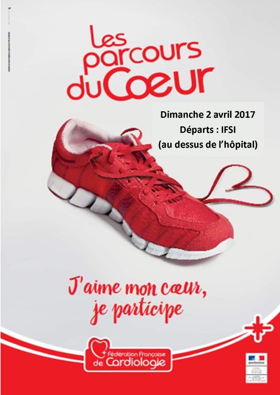 Affiche du Parcours du Cœur 2017