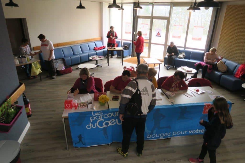 Photo de l'accueil dans le hall de l'Institut de Formation en Soins Infirmiers