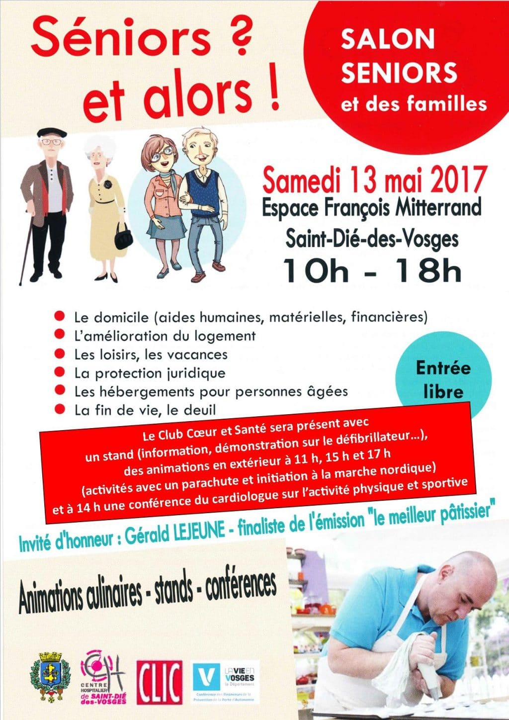 Salon des s niors club c ur et sant for Salon seniors