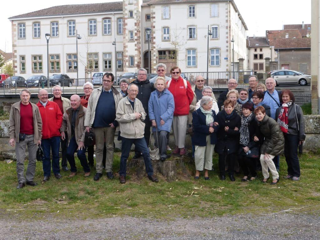 photo du groupe au départ