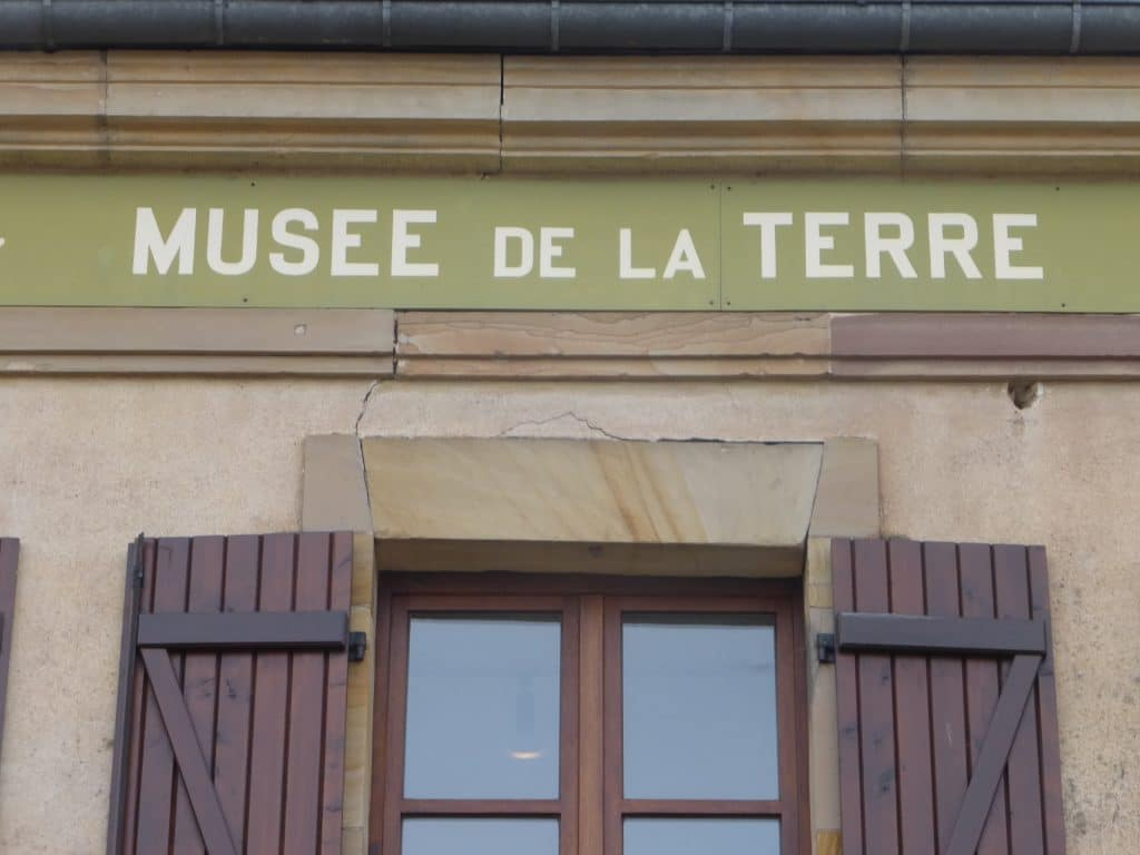 Photo de l'inscription : Musée de la Terre
