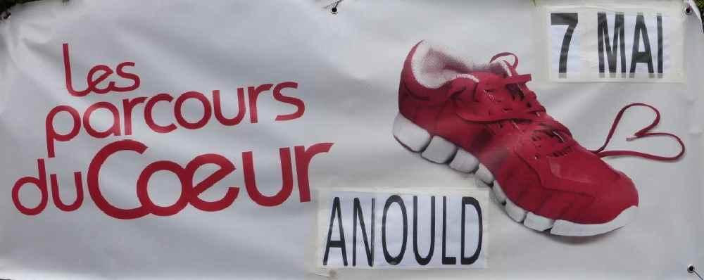 Affiche du parcours du Cœur d'Anould