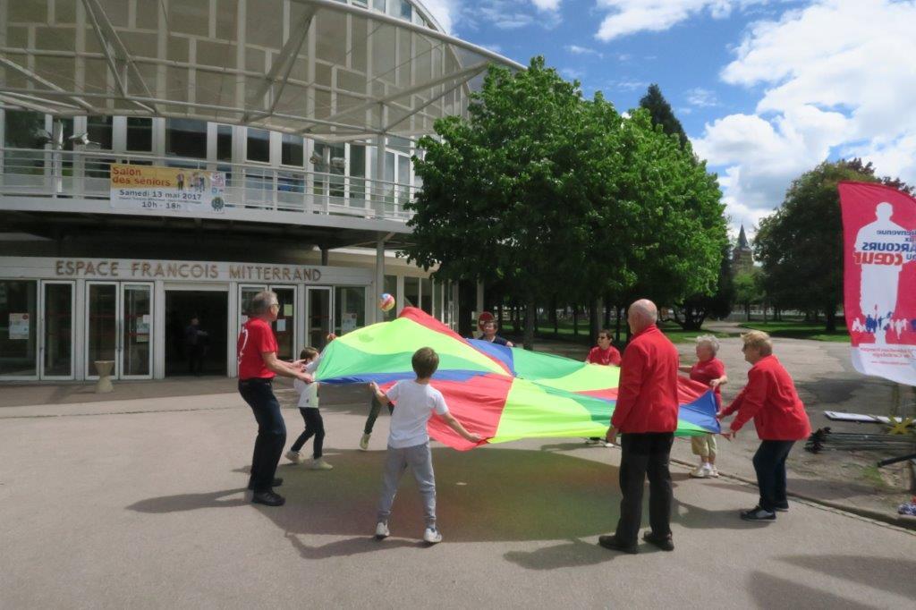 Activité autour d'un parachute