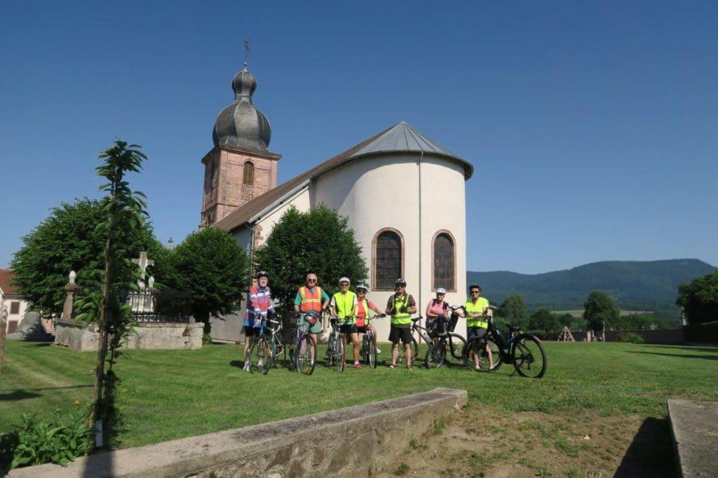 Photo du groupe-Sortie vélo du 15 juin 2107