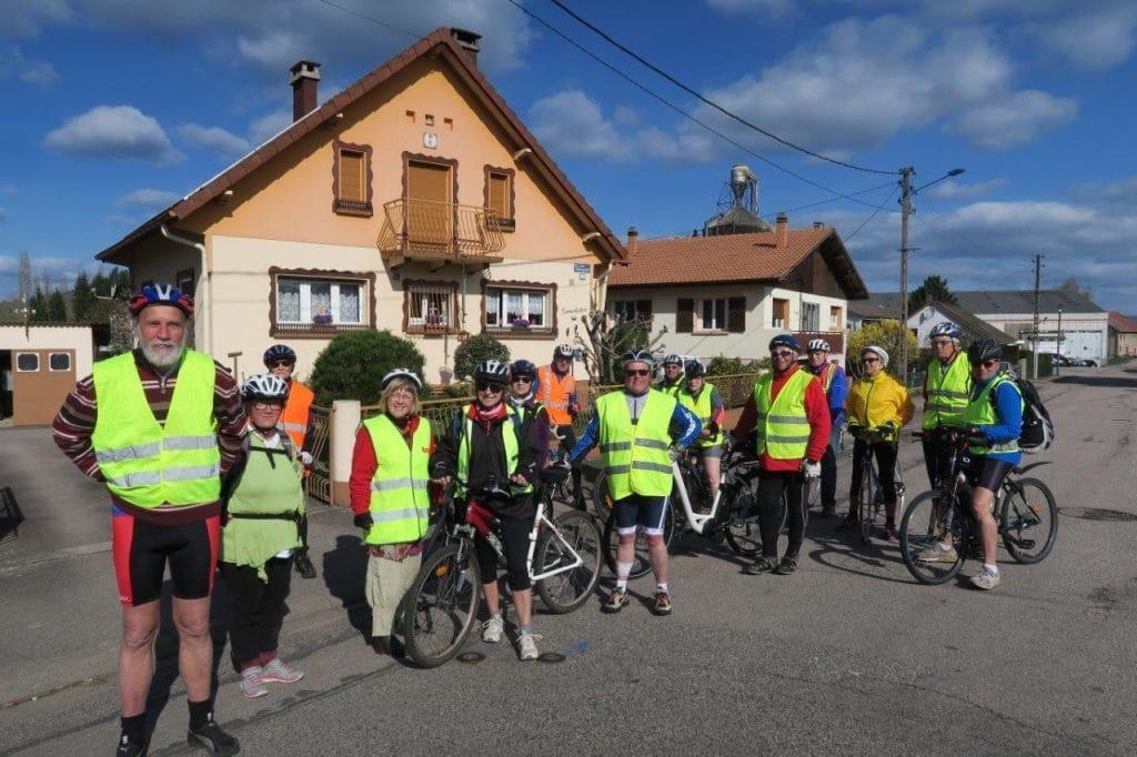Photo de groupe à Saulcy-sur-Meurthe