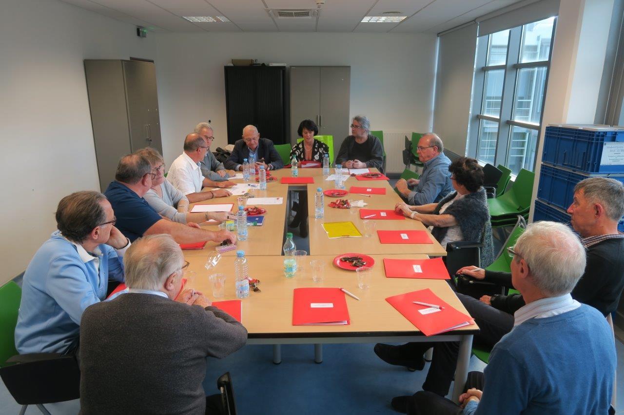 Photo de la réunion du Conseil d'Administration