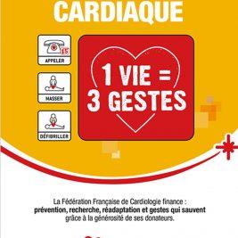 Brochure de la FFC sur l'arrêt cardiaque