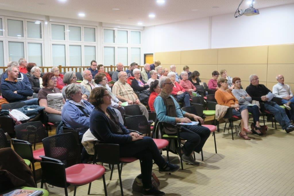 Photo du public