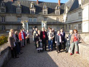 Photo de l'arrivée au Château