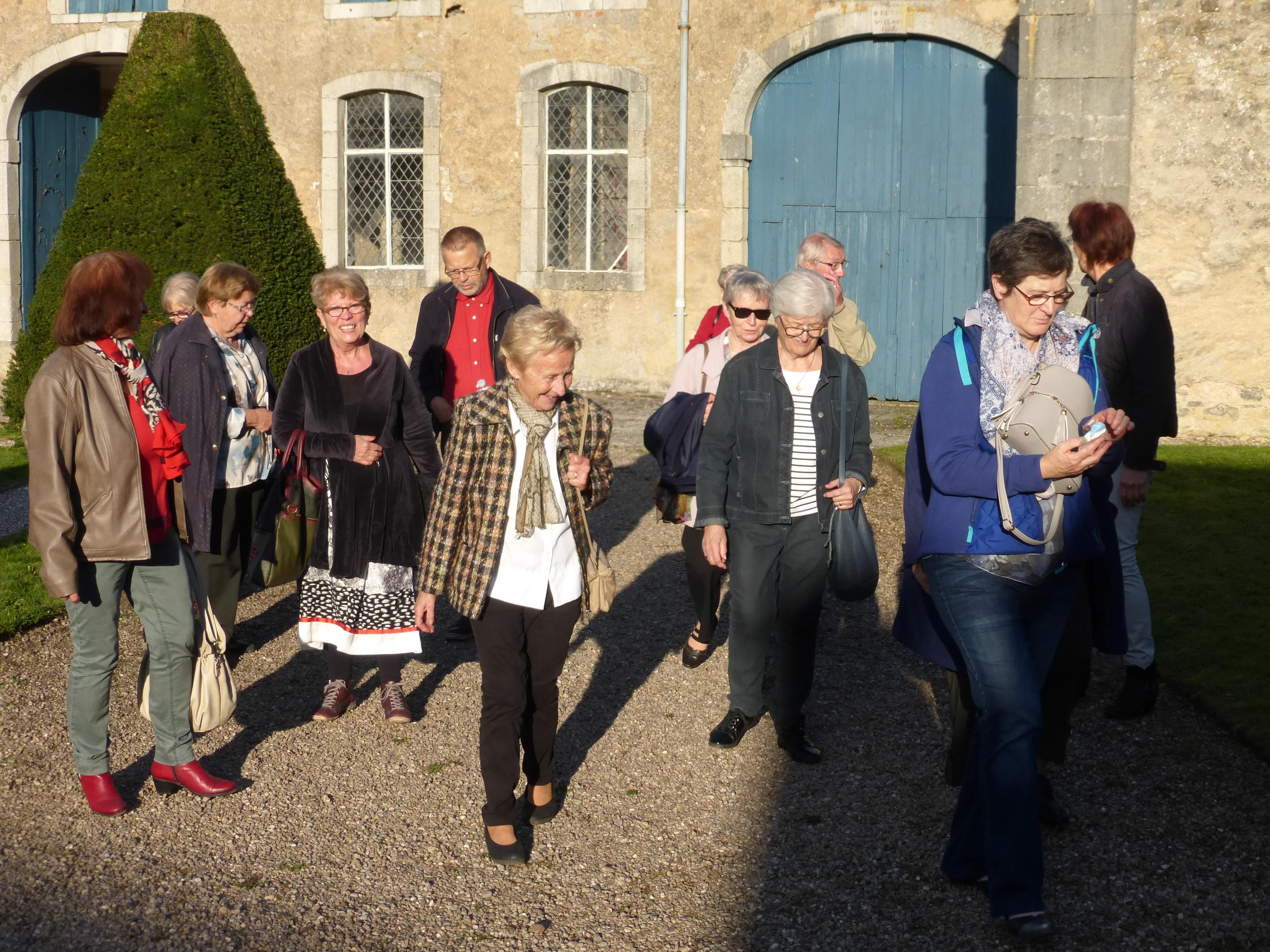 Photo du départ du Château