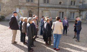Photo de l'accueil par Madame la Comtesse