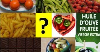 Photo de différents aliments