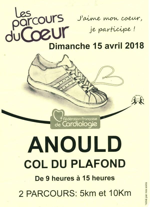 Affiche du parcours d'Anould