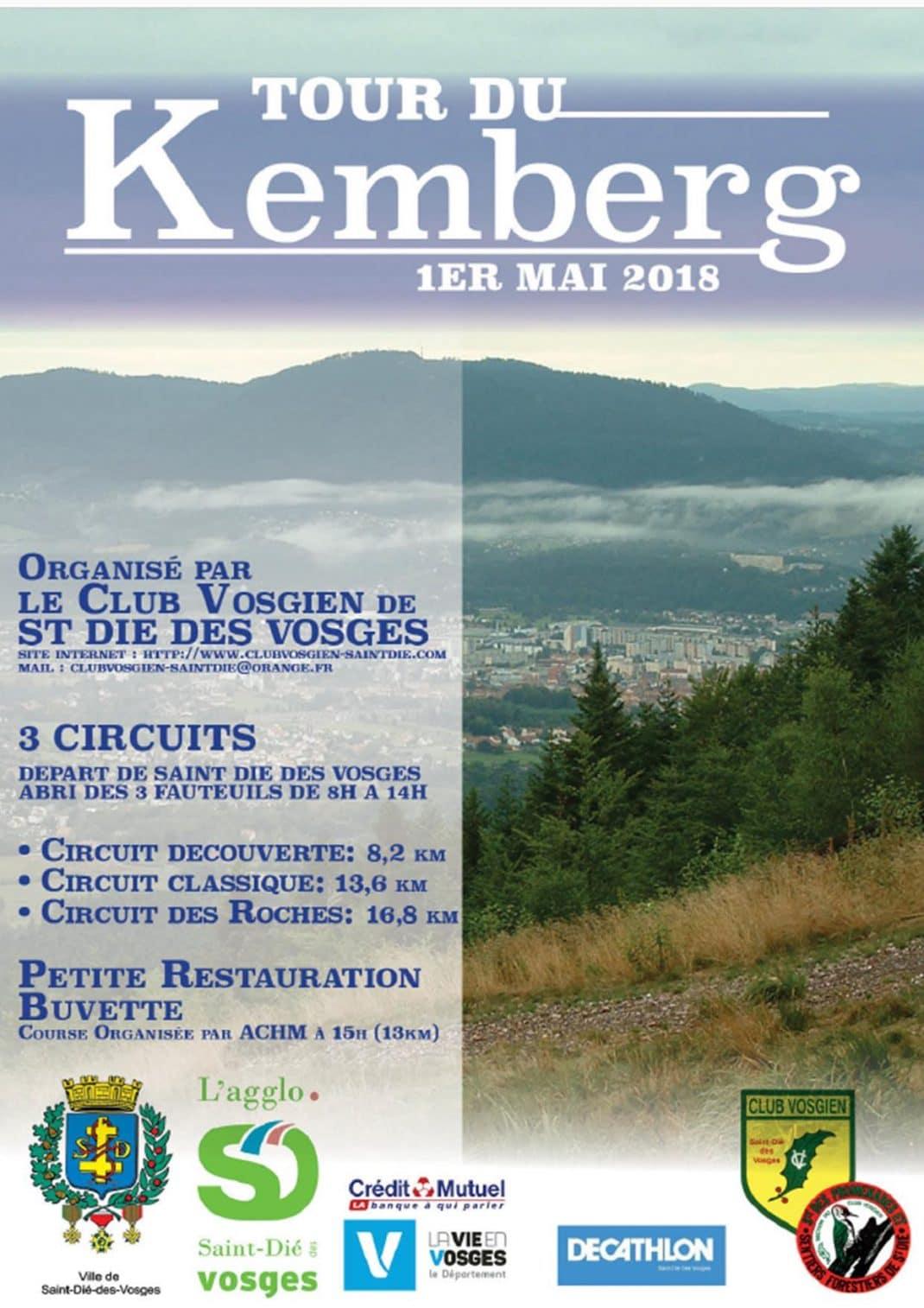 Affiche du Tour du Kemberg