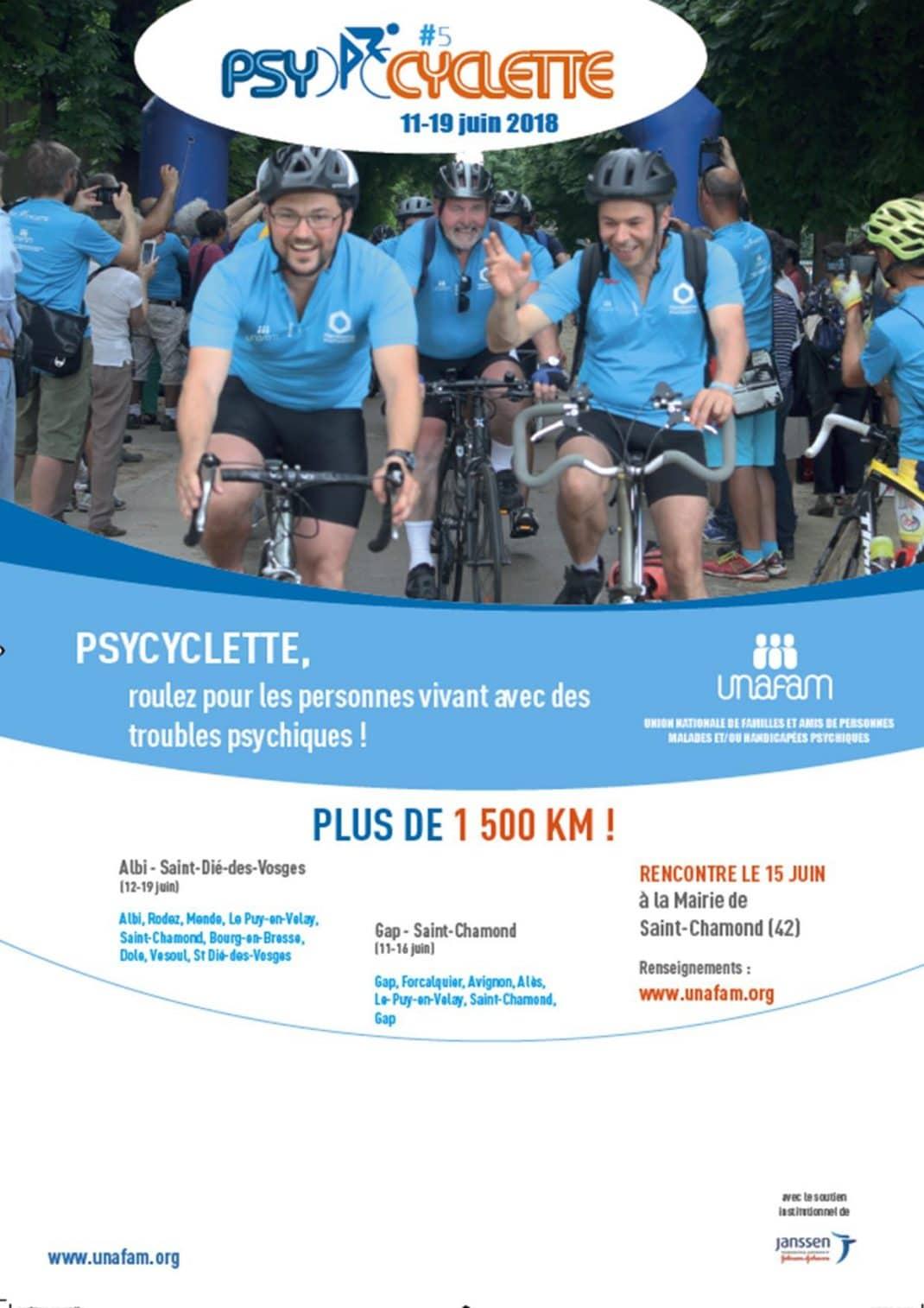 Affiche de la Psycyclette