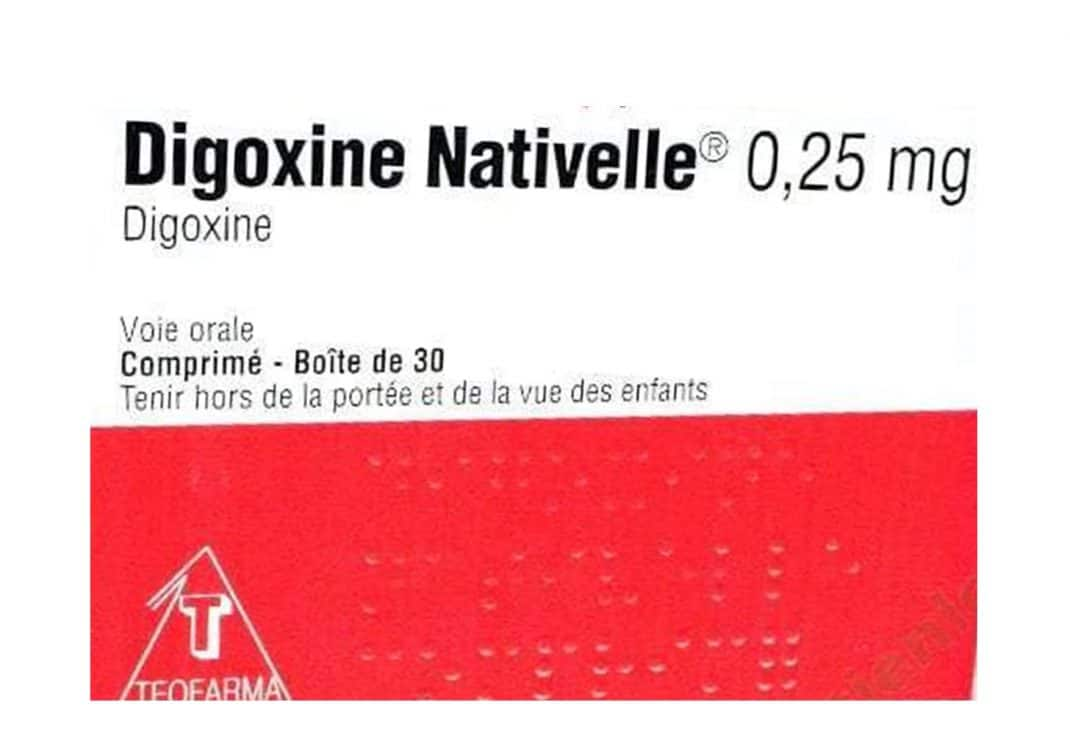 Photo d'une boite de Digoxine Nativelle