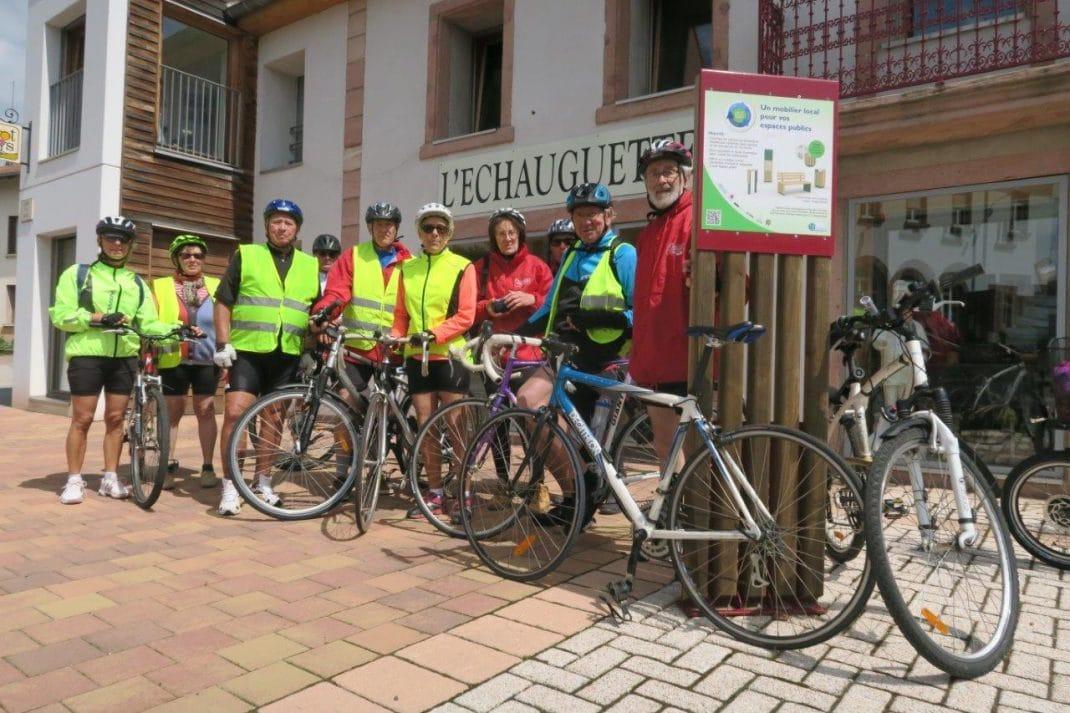 Phot du groupe devant l'Echauguette