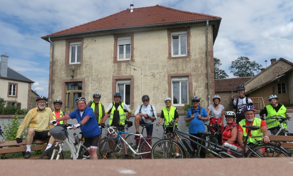 Photo des cyclistes