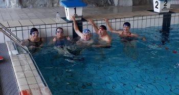 photo de 5 nageurs