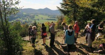 Vue sur la vallée de Saint-Jean et le Massif de la Bure