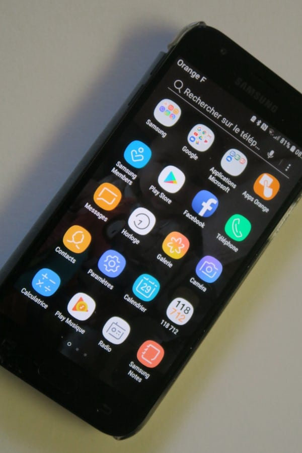 photo d'un smartphone