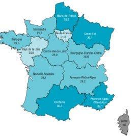 La carte du tabagisme en France