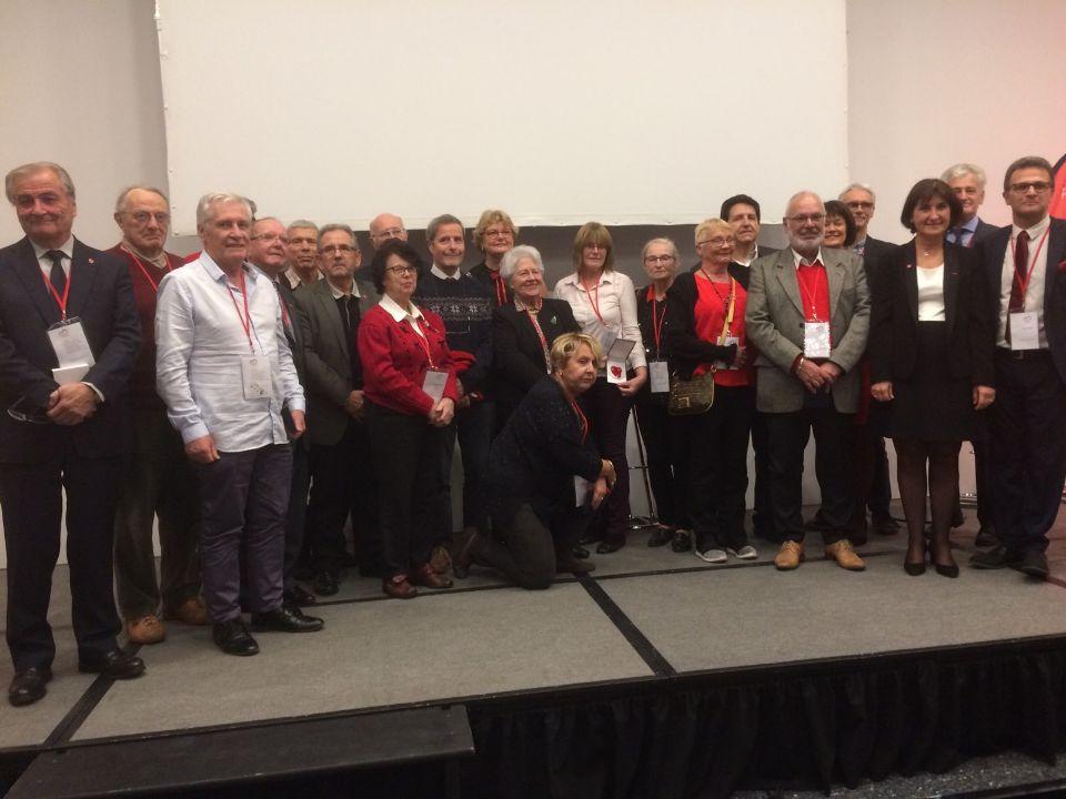 Les 20 lauréats de la médaille de la FFC