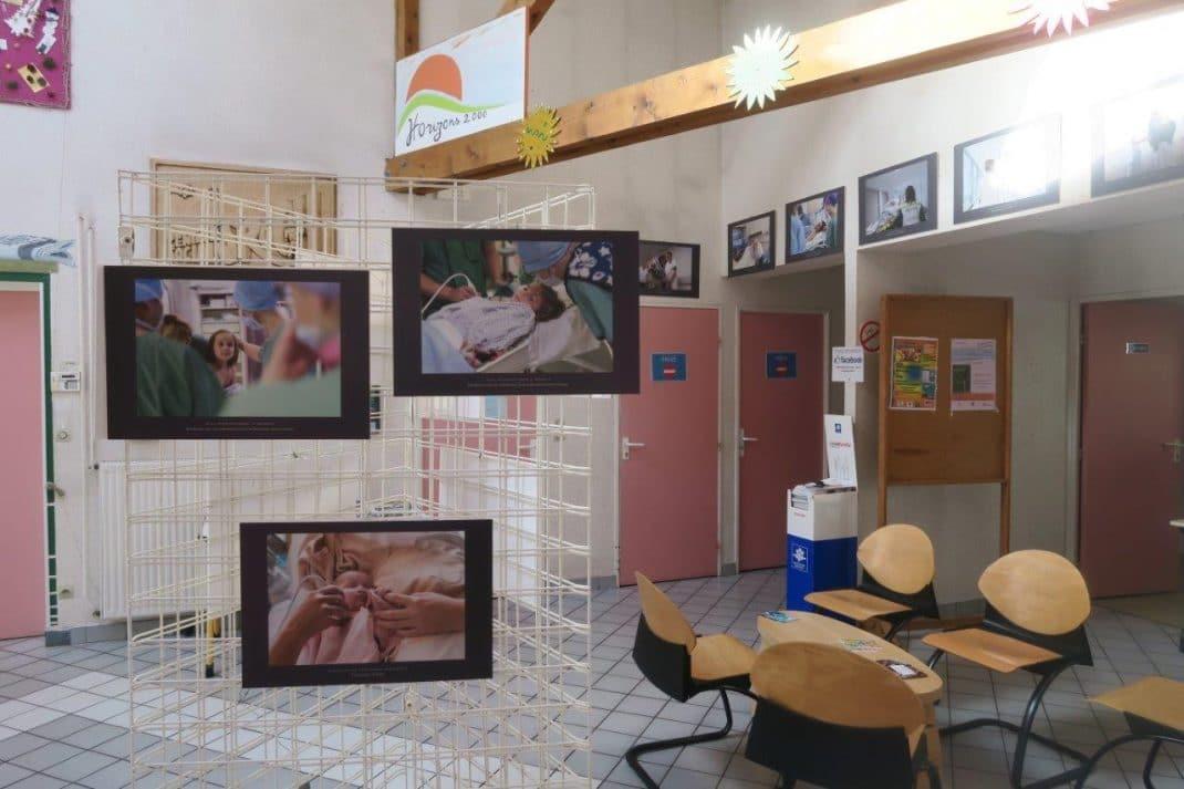 Photo d'une partie de l'exposition