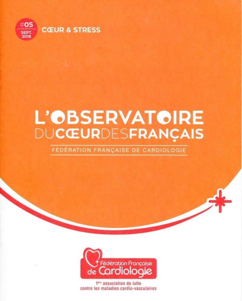 Page de garde de l'Observatoire du cœur des Français N°5