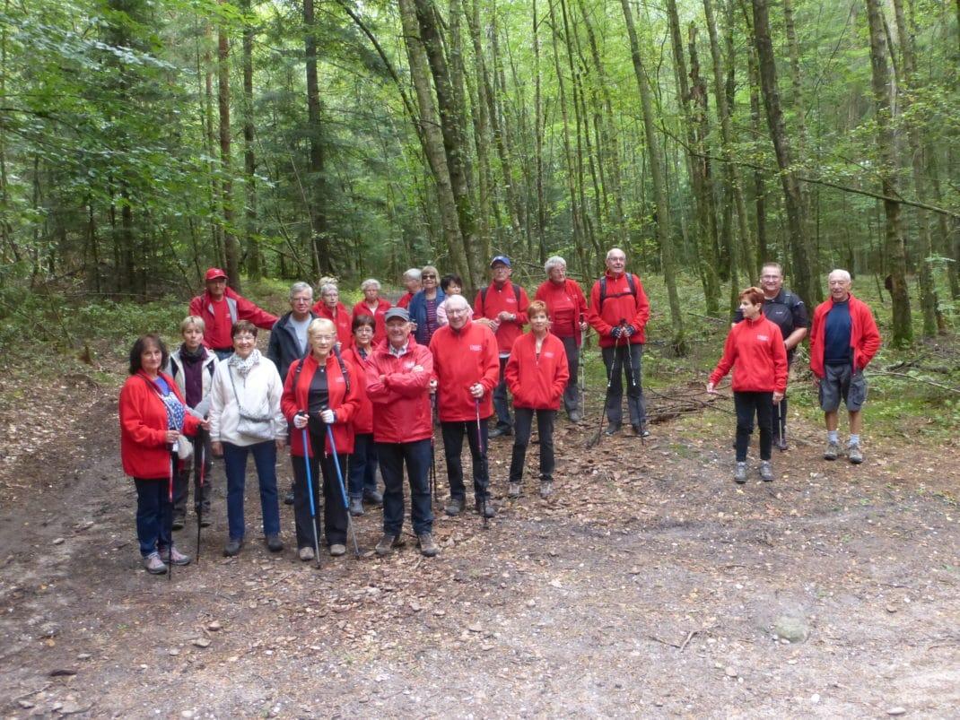 photo du groupe des participants à la rentrée 2018