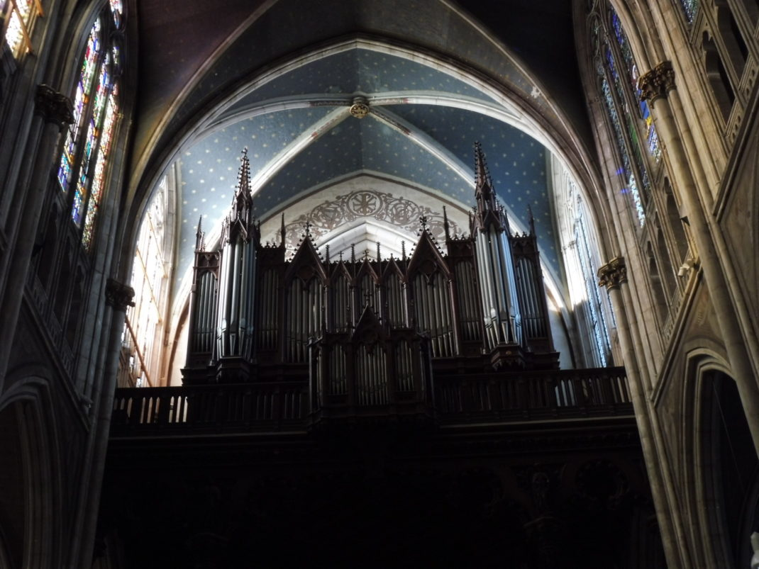 Photo de l'orgue restauré en 1992