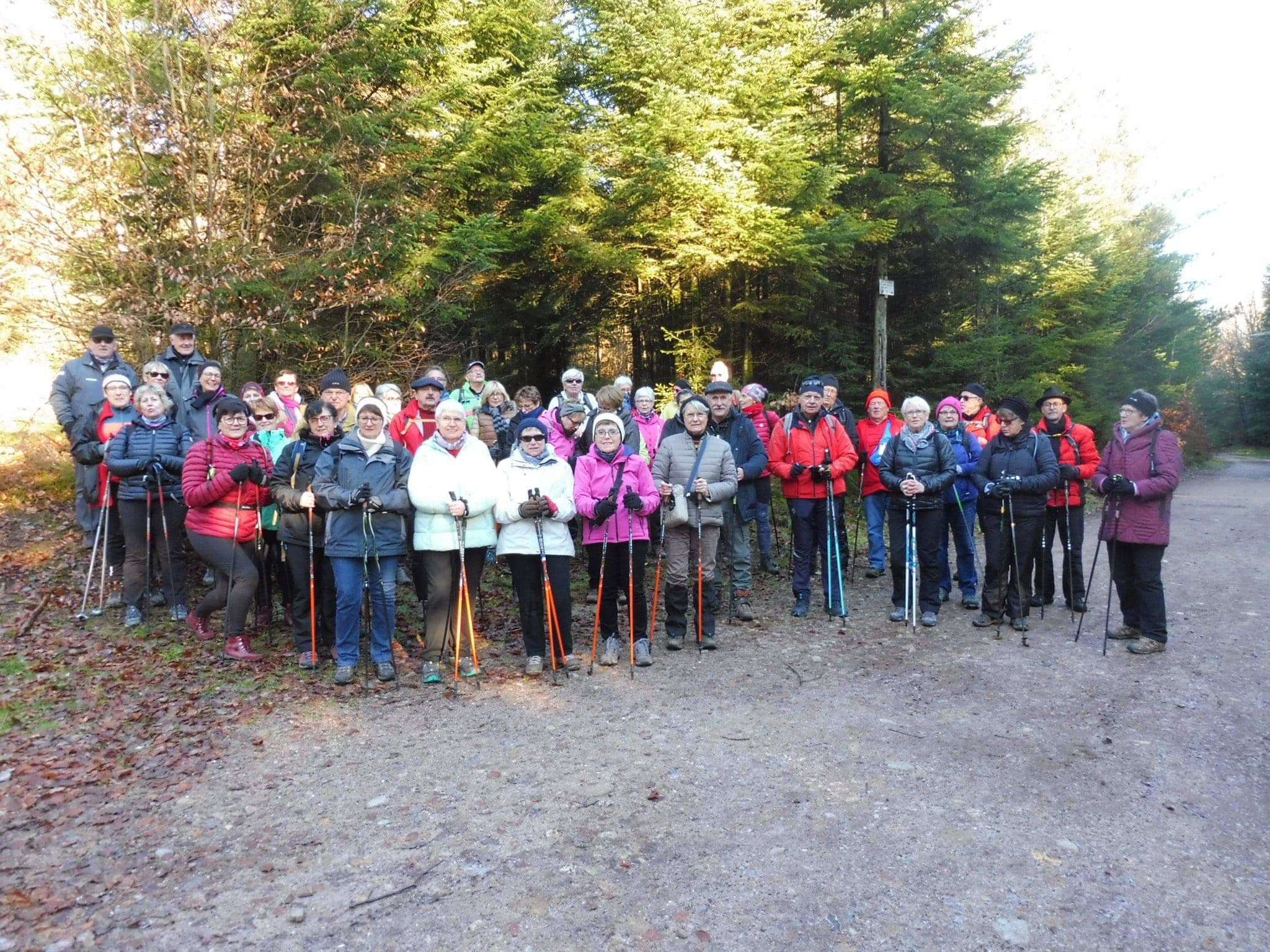 Photo du groupe de participants à la séance du 6 janvier