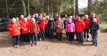 Photo des 37 participants au départ du Col d'Anozel