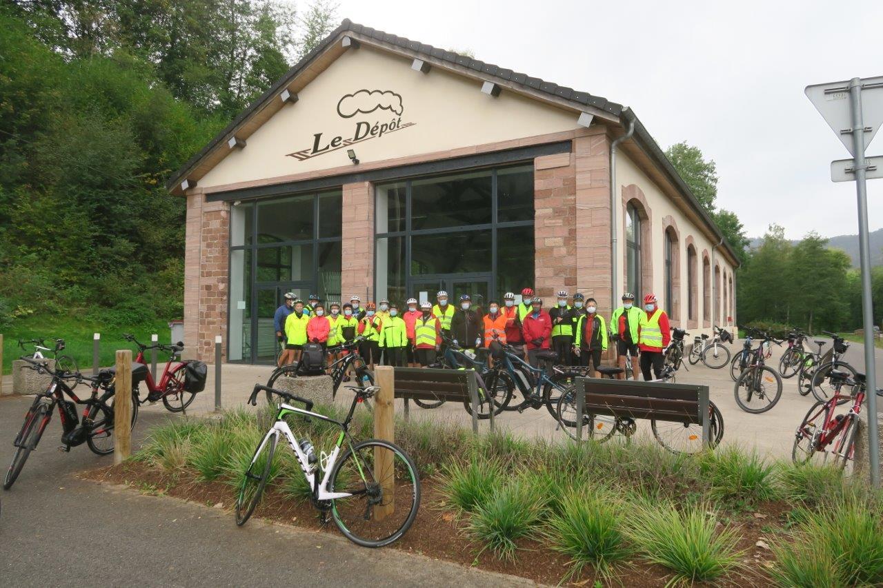 Vélo à Senones -Le Dépôt-24-9-2020