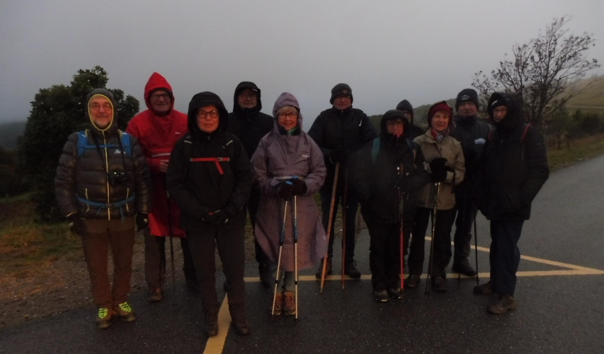 Photo des douze participants
